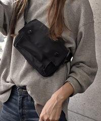 mb-bag2-02389 フラップポケット ナイロン サコッシュ