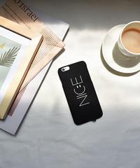 mb-iphone-02460  NICE ブラック ストラップホール付き iPhoneケース