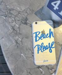 mb-iphone-02138 BeachPlease クリアケース iPhoneケース