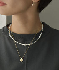 mb-necklace2-02058 ランダム淡水パール マンテルネックレス