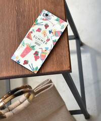 mb- iphone-02538  トロピカル柄 enjoy SUMMER iPhoneケース