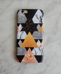mb-iphone-02192 タイプ33 マルチミックス 大理石 マーブル柄 天然石柄 ストーン柄 iPhoneケース
