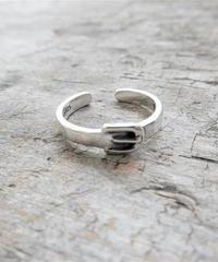 mb-ring-02151 SV925 ベルトバックル シルバーリング 幅3mm 8号から上にサイズ調整可能