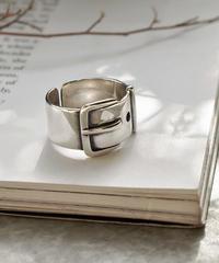 mb-ring2-02056 SV925 ベルトデザインリング シルバー925