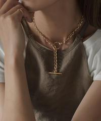 mb-necklace2-02036 日本製 anchor チェーン マンテルネックレス シルバー ゴールド ☆WA04