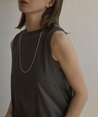 mb-necklace2-02034 日本製 ボールチェーン ネックレス 4mm玉 ロングタイプ ☆WA04