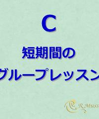 C 短期間グループレッスンチケット:1枚