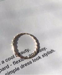 10K Gold spiral ring