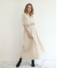 Cache-coeur Gather Dress