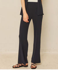 chill time knit straight pants