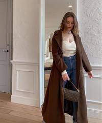 【30着限定】Maxi over coat