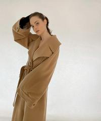 【30着限定】Back detail flare line coat