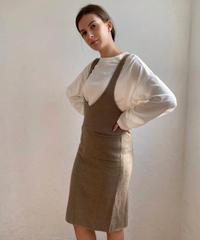 Warm knit jumper skirt
