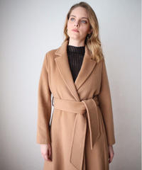 Flare Long Wool Coat