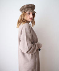 warm knit long cardigan