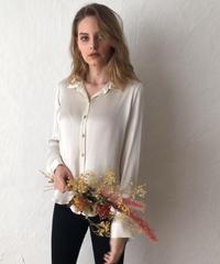silky satin blouse