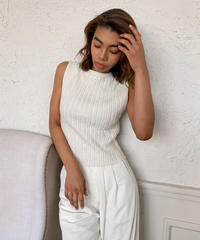 Cotton knit tanktop