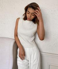 Cotton knit tanktop