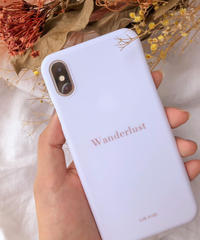 "iPhone case ""Wonderlust"""