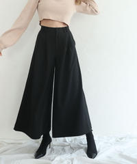Box wide flare pants