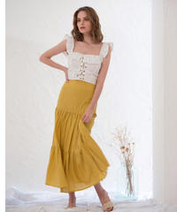 Volume teared skirt