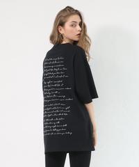 Back print T- shirt