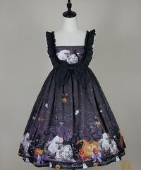 Halloween Magic Cat ジャンパースカート