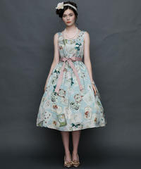 【Mサイズ】Antique card ジャンパースカート