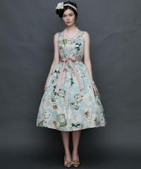 【Lサイズ】Antique card ジャンパースカート