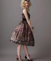 【Lサイズ】Antique bouquet ジャンパースカートⅢ
