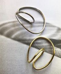 metal round ear cuff
