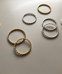 【silver925 】twist ring