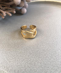 silver925 goldcoating ring