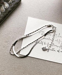 【silver925】 2line bracelet