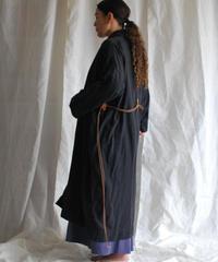 organic cotton hemp KINAGASHI coat sumikuro