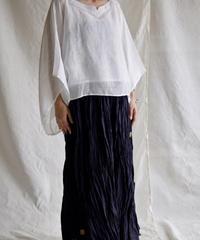 kaya linen PO yakko  WHITE