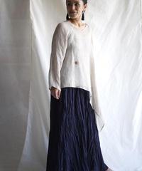 kaya linen PO one sleeve  NATURAL