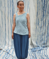 linen one shoulder