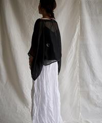 kaya linen PO yakko  BLACK