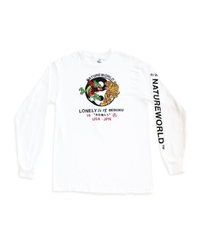 "LONELY BEIKOKU ×NATURE WORLD  ""YIN YANG EMBROIDERY"" LONG SLEEVE"