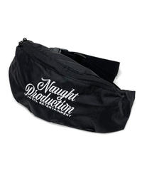 Naught Production SIMPLE LOGO WAIST BAG