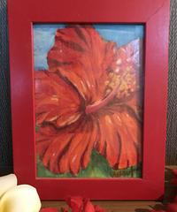 アートオブチョークアート(ハイビスカス hibiscus)
