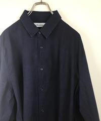 mahatma 濃紺 wide shirt