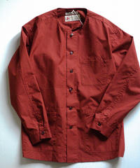 Tailor the dress / No Collar 3poket Workshirt - Red