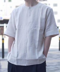 Handwerker /  short sleeve shirt - Off white