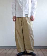 Handwerker /  wide trousers - コーデュラツイル - Beige