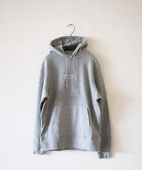 ajouter Original Hoody  / why the rush・・・  /  ミックスグレー × ホワイト