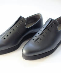 ISHMM /  7HOLE SHOES - BLACK -Men's