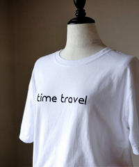 ajouter Original Tee Part3/ time travel / ホワイト