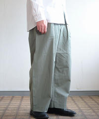 Handwerker /  wide trousers - コーデュラツイル - Right green